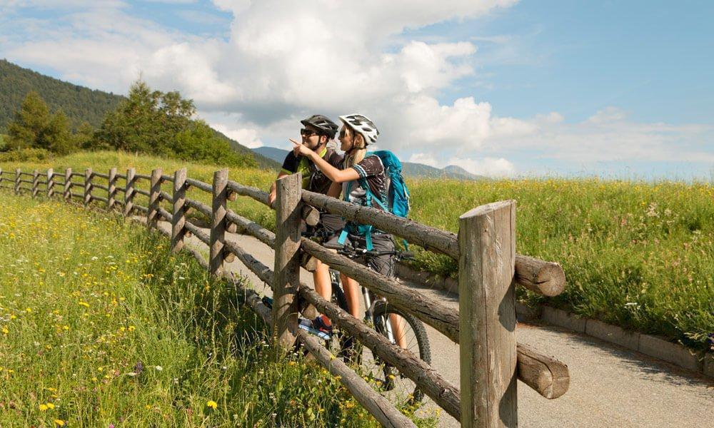 Mit dem E-Bike entspannt durch den Naturpark
