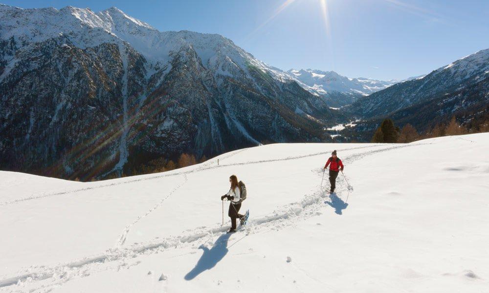 Schneeschuh- & Winterwandern durch den Vinschgau